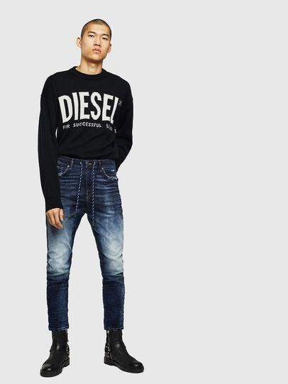 Diesel - D-Vider JoggJeans 069KD, Bleu Foncé - Jeans - Image 5