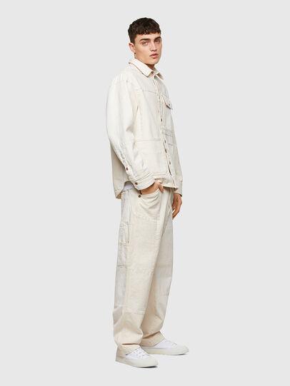 Diesel - D-FRAN-SP1, Blanc - Pantalons - Image 5