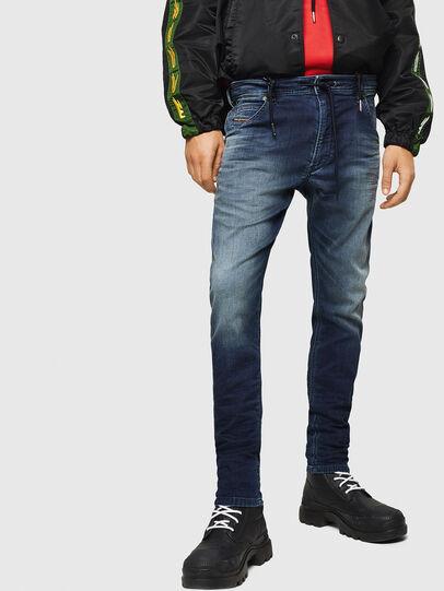 Diesel - Krooley JoggJeans 069HH, Bleu Foncé - Jeans - Image 1