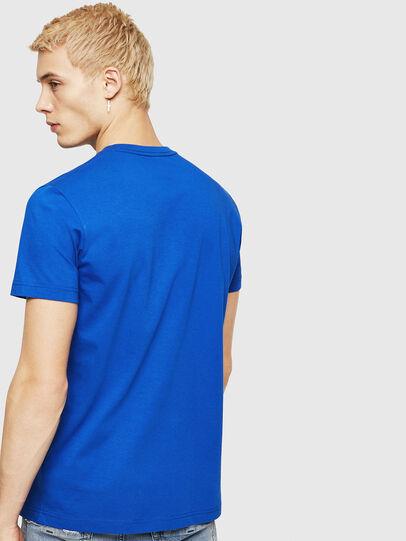 Diesel - T-DIEGO-DIV, Bleu Brillant - T-Shirts - Image 2