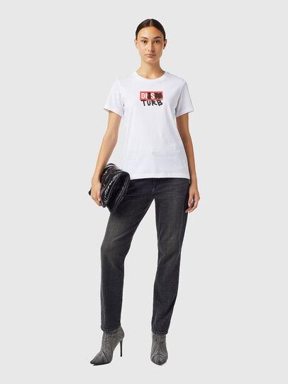 Diesel - T-SILY-B6, Blanc - T-Shirts - Image 4