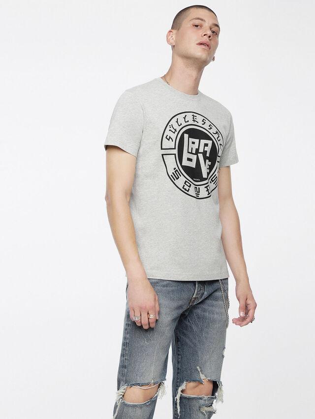 Diesel - T-DIEGO-XC, Mélange Léger - T-Shirts - Image 1