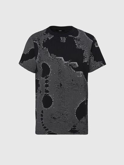 Diesel - T-DARIA-E4, Noir - T-Shirts - Image 1