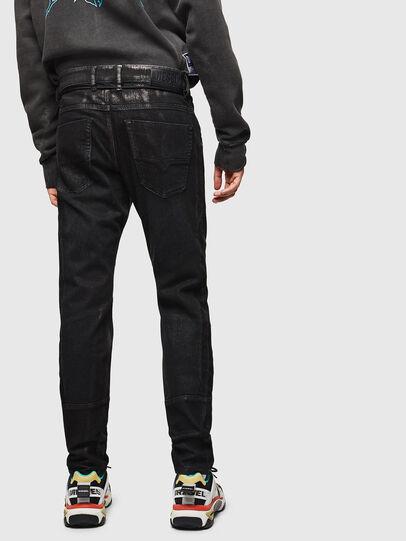 Diesel - D-Luhic JoggJeans 0092W, Noir/Gris foncé - Jeans - Image 2