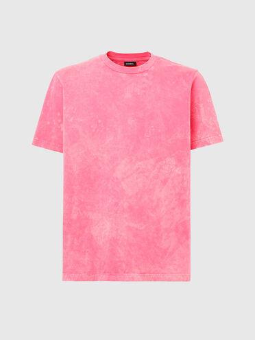 T-shirt délavé à l'acide