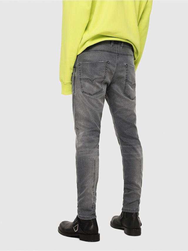Diesel - Krooley JoggJeans 069EH, Noir/Gris foncé - Jeans - Image 2