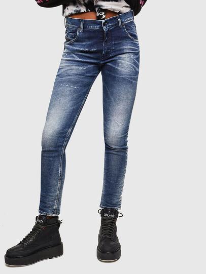 Diesel - Krailey JoggJeans 0096M, Bleu Foncé - Jeans - Image 1