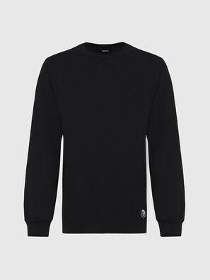 T-JUST-LS-MOHI, Noir - T-Shirts