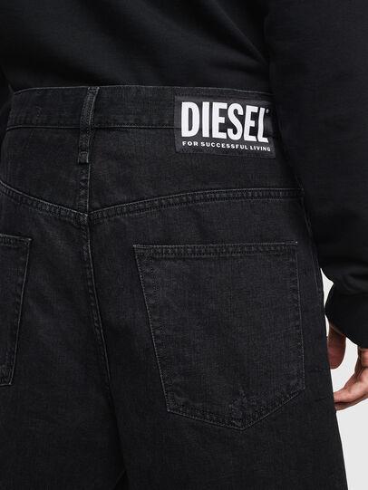 Diesel - D-BRON, Noir/Gris foncé - Shorts - Image 4