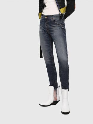 Krailey JoggJeans 069FG, Bleu moyen - Jeans