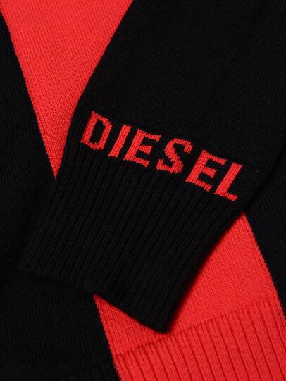 Diesel - KTAPEX, Noir/Rouge - Pull Maille - Image 3