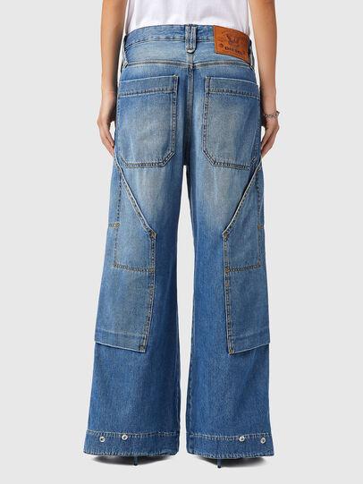Diesel - D-Laly 0AFAM, Bleu moyen - Jeans - Image 2
