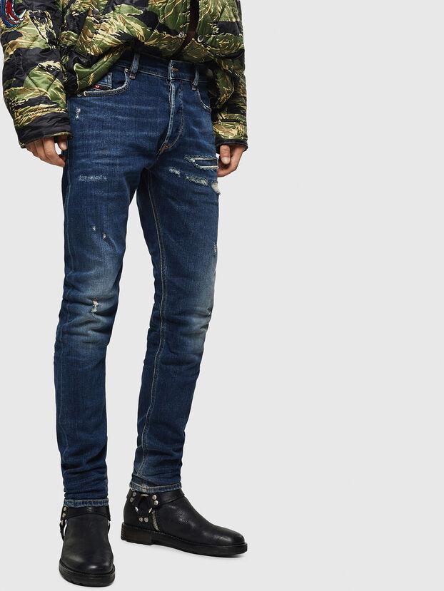 Tepphar 0890R, Bleu Foncé - Jeans