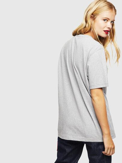 Diesel - CC-T-JUST-COLA, Gris - T-Shirts - Image 4