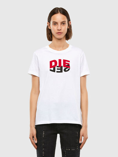 Diesel - T-SILY-V23, Blanc - T-Shirts - Image 1