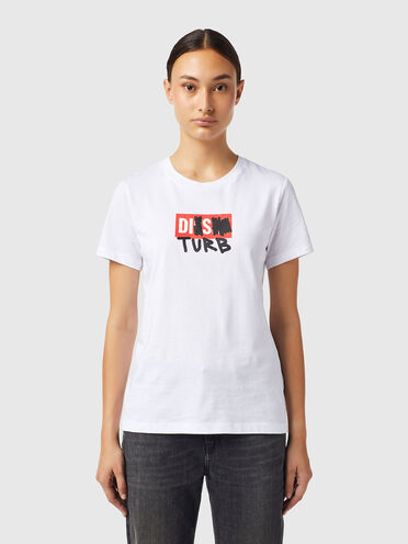 T-shirt avec logo DISTURB