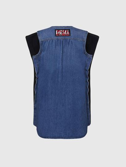 Diesel - M-BYRNE, Noir/Bleu - Robes - Image 2