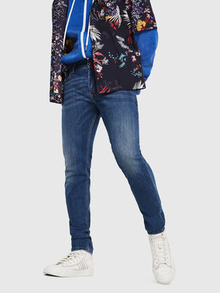 Sleenker 069AJ, Bleu moyen - Jeans