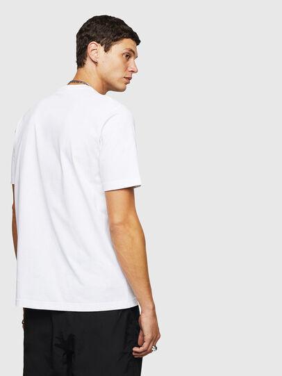 Diesel - T-JUST-B24, Blanc - T-Shirts - Image 2