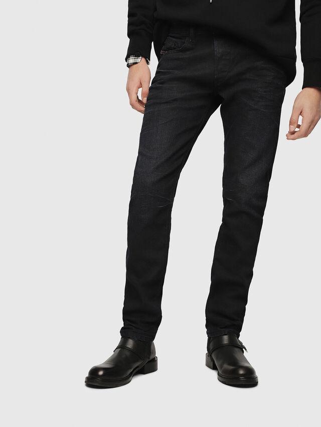 Diesel - Belther 087AU, Bleu Foncé - Jeans - Image 1