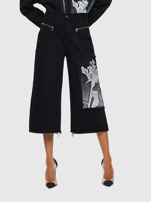 DE-REIKA-SX, Noir - Pantalons