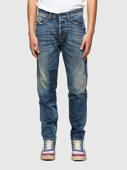 Diesel - D-Fining 009SV, Bleu moyen - Jeans - Image 1