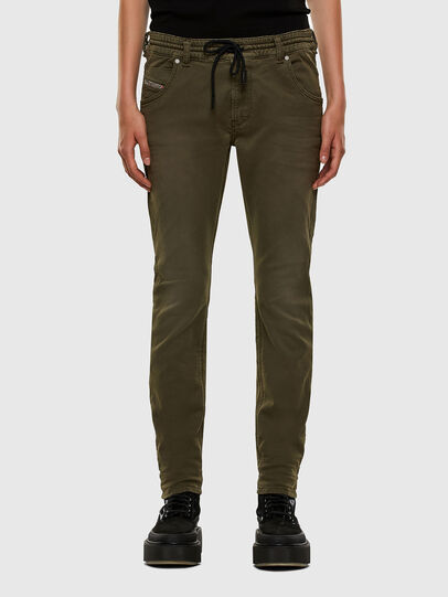 Diesel - Krailey JoggJeans® 0670M, Vert Militaire - Jeans - Image 1