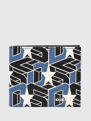 HIRESH S, Noir/Bleu - Petits Portefeuilles