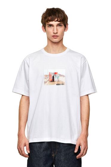 T-shirt sans coutures avec impression photo