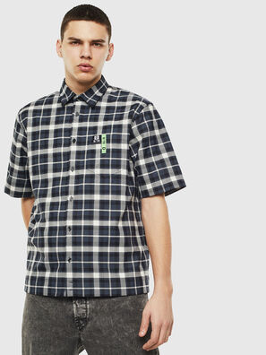 S-ATWOOD-A, Noir/Blanc - Chemises