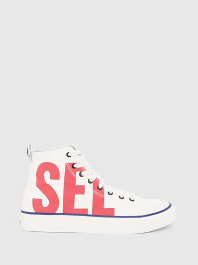 Diesel - S-ASTICO MC W, Blanc/Rouge - Baskets - Image 1