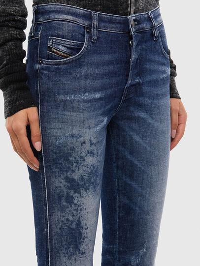 Diesel - Babhila 009JM, Bleu Foncé - Jeans - Image 4