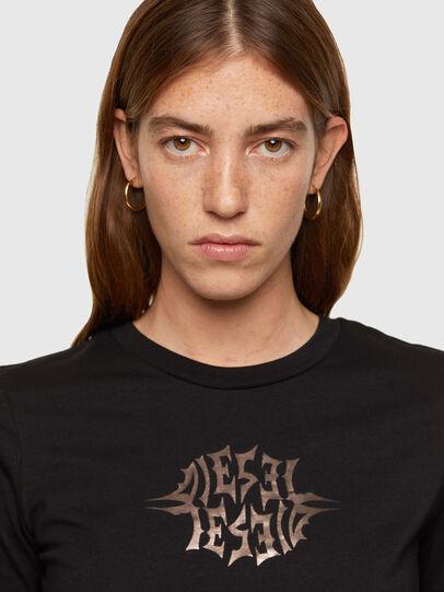 Diesel - T-SILY-K9, Noir - T-Shirts - Image 3