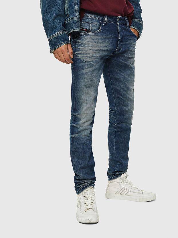 D-Bazer 0090D, Bleu moyen - Jeans