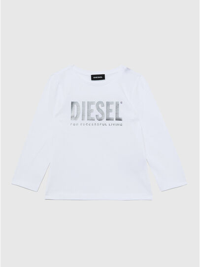 Diesel - TRASSYB-R, Blanc - T-shirts et Hauts - Image 1