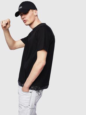 T-GLASSY, Noir - T-Shirts