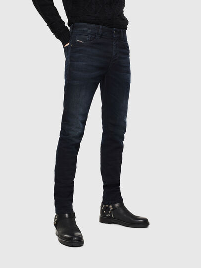 Diesel - Thommer 084AY, Bleu Foncé - Jeans - Image 1