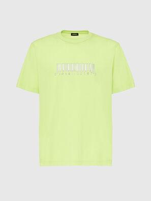 T-JUST-SLITS-X85, Vert Fluo - T-Shirts
