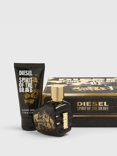 Diesel - SPIRIT OF THE BRAVE 35ML GIFT SET, Noir/Doré - Only The Brave - Image 1