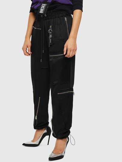 Diesel - P-LEX, Noir - Pantalons - Image 5
