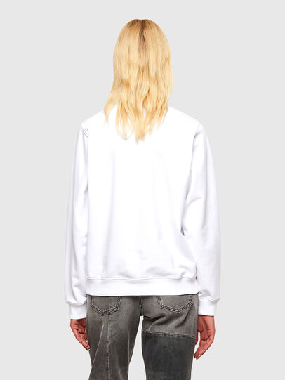 Diesel - F-ANG-R30, Blanc - Pull Cotton - Image 2