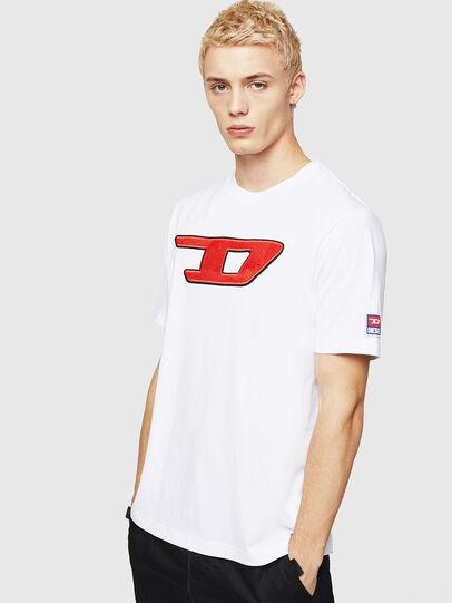 Diesel - T-JUST-DIVISION-D, Blanc - T-Shirts - Image 1