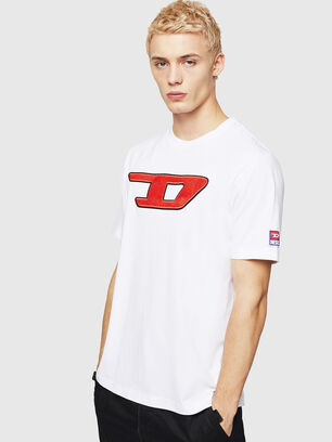 T-JUST-DIVISION-D, Blanc - T-Shirts