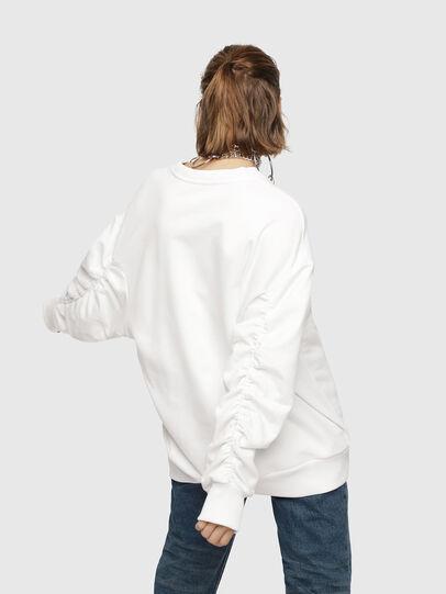 Diesel - F-ARAP, Blanc - Pull Cotton - Image 2