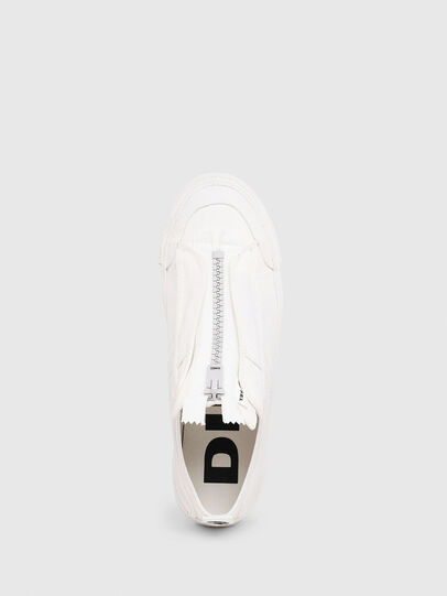 Diesel - S-ASTICO LOW ZIP SP, Blanc - Baskets - Image 4