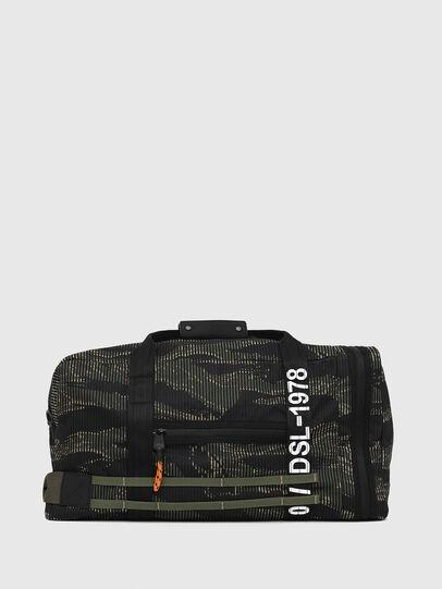 Diesel - M-CAGE DUFFLE M, Noir/Vert - Sacs de voyage - Image 1