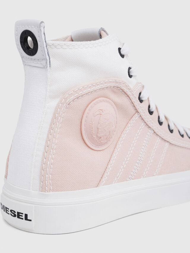 Diesel - S-ASTICO MID LACE W, Rose/Blanc - Baskets - Image 5