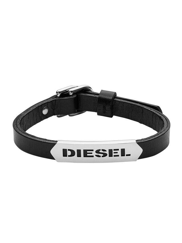 Diesel - BRACELET DX0999, Noir - Bracelets - Image 1