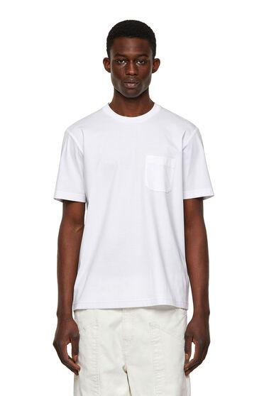 T-shirt en coton avec poche imprimée