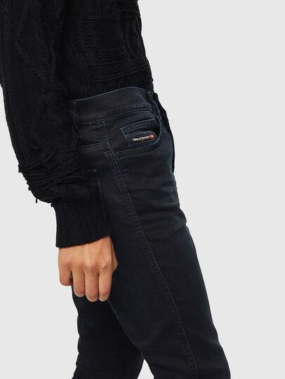 Diesel - D-Reeft JoggJeans 069KJ, Noir/Gris foncé - Jeans - Image 3